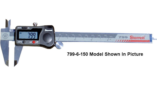 Starrett Electronic Digital Caliper 8in 200mm - 799-8-200