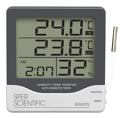 Large Display Indoor/Outdoor Thermometer - 800015