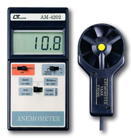 Anemometer With Temperature - AM4202