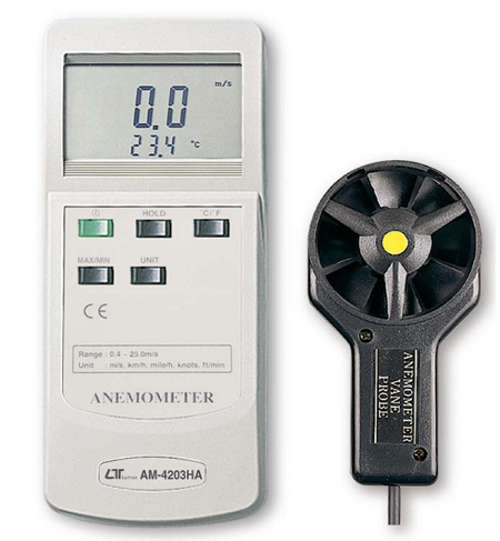 Multi-Function Anemometer - AM4203HA