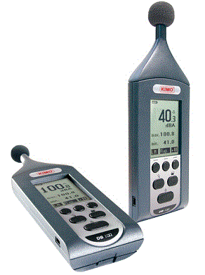Type II Sound Level Meter with LA and Laeq - DB100