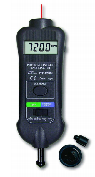 Laser Tachometer - Photo/Touch Type - DT1236L