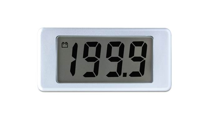 200mV d.c. Voltmeter with Single-Hole Mounting - EMV 1025S-01