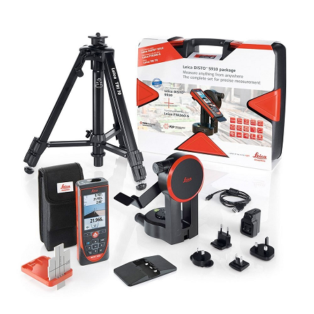 Leica S910PACK Laser Distance Measuring Device Pro Pack