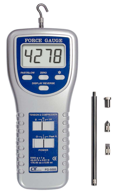 Force Gauge -5000g Full Scale - FG-5005