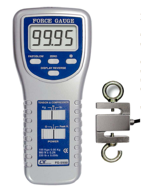Force Gauge 100kg Full Scale - FG5100