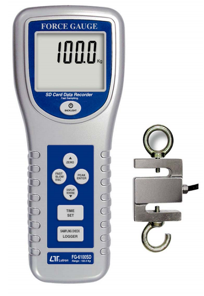 Force Gauge 100kg Full Scale - FG6100SD