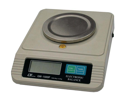 Electronic Scale - 1-500g X 0.05g - GM1-500P