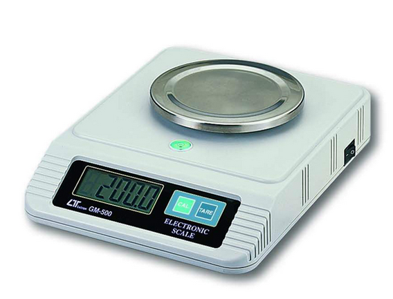 Electronic Scale - -500g X 0.1g + Rs232 - GM-500G
