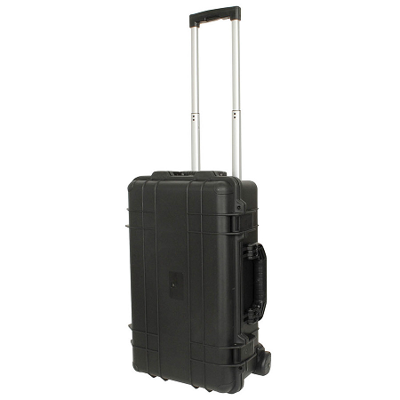 ABS Instrument Rolling Case with Purge Valve MPV8 - HB6387