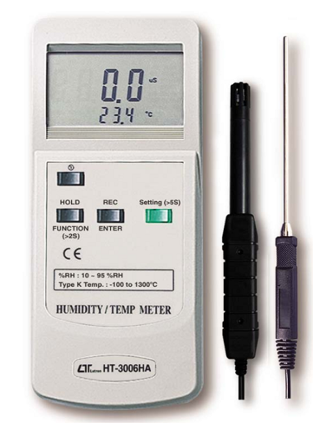 Humidity Meter Type K Thermometer - HT3006HA