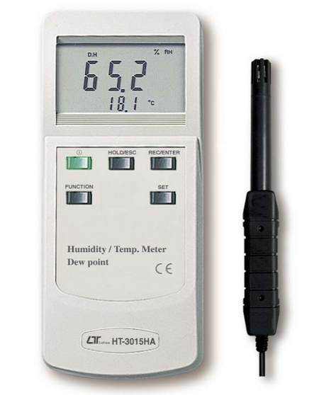 Humidity Meter With Temperature, Dew Point - HT3015HA