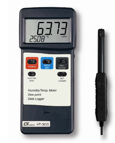 Humidity Meter With Temperature, Dew Point & RS232 For Datalogging - HT3015