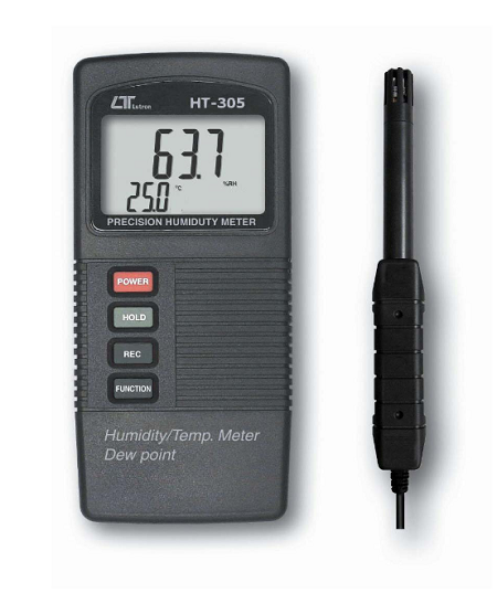 Pocket Humidity Meter With Temperature & Dew Point - HT305