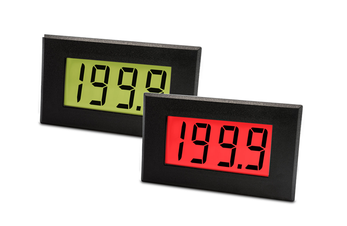 Large 4-20mA Loop Powered LCD Meter with Red/Green Programmable Backlighting - DPM 942-FPSI
