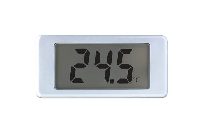 Digital LCD thermometer with single-hole mounting - EMT 1900