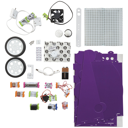 littleBits Gizmos and Gadgets Kit - KJ9100