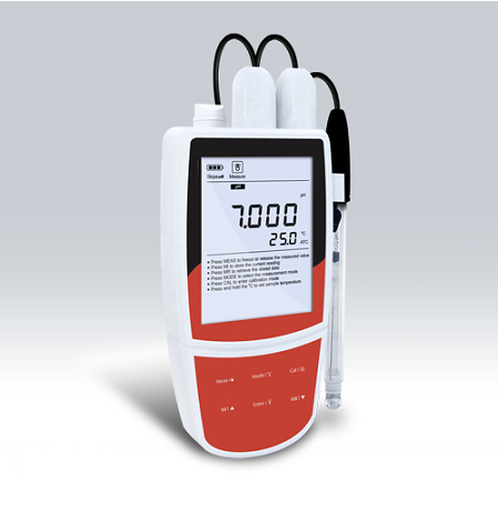 Portable pH/ORP Meter - KS-PH-221-DELUXE