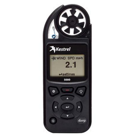 Kestrel Meter 5000 Environment Meter - Black