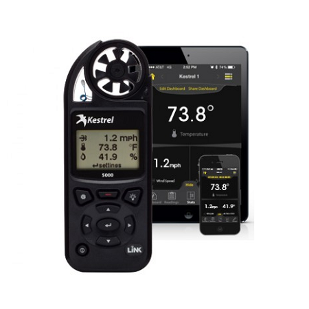 Kestrel Meter 5000 Environment Meter with Link Bluetooth - Black