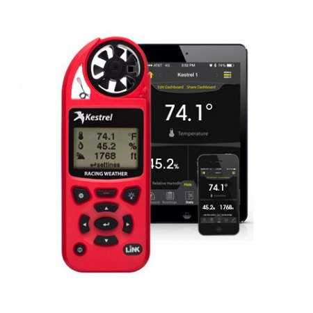 Kestrel Meter 5100 Environment Meter with Link Bluetooth - Red