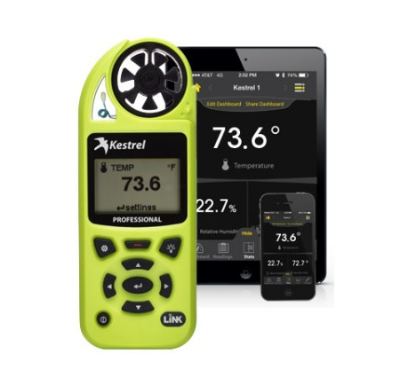 Kestrel 5200 Professional Environmental Meter with Link Bluetooth - Green