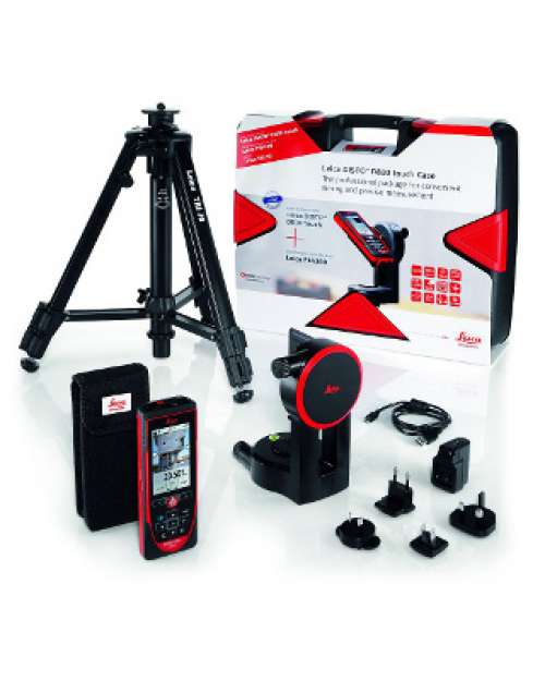 Leica Disto D810 Touch Laser Distance Meter Package