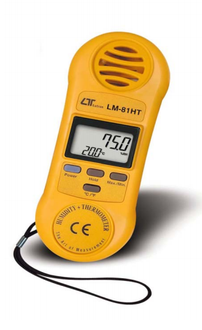 Humidity/Temperature Meter - LM81HT