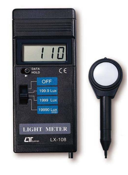 Light Meter - High Precision - LX108