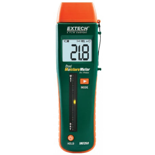 Combination Pin/Pinless Moisture Meter - MO260