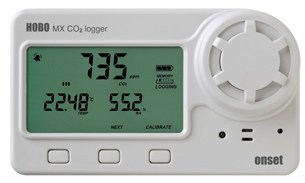 HOBO MX1102 Carbon Dioxide (CO2) Data Logger - MX1102