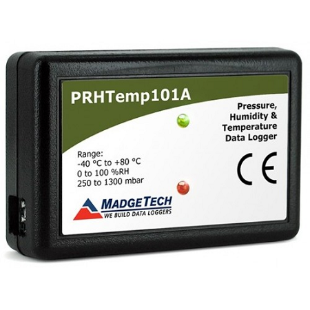 Pressure, relative humidity and temperature Data logger - PRHTEMP101A