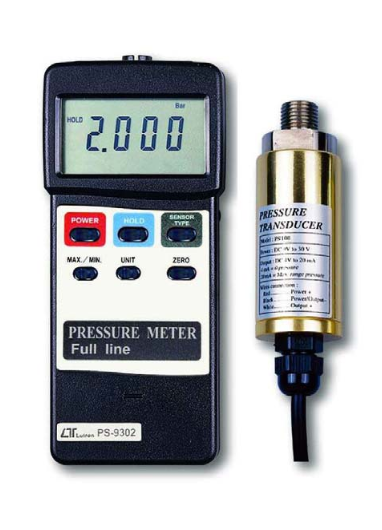 Pressure Meter with RS232 interface - PS9302
