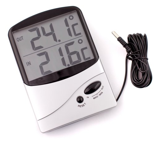 Jumbo Display In-Out Thermometer - QM7310