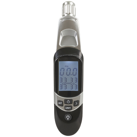 Tire Pressure Tester with Deflator 5-100PSI - QP2287
