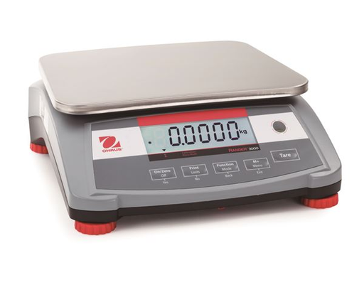 3 kg Ranger 3000 Series Compact Bench Scale - R31P3