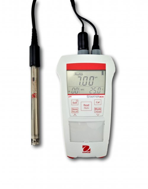 Starter 300 Portable pH Meter with probe - 30219114