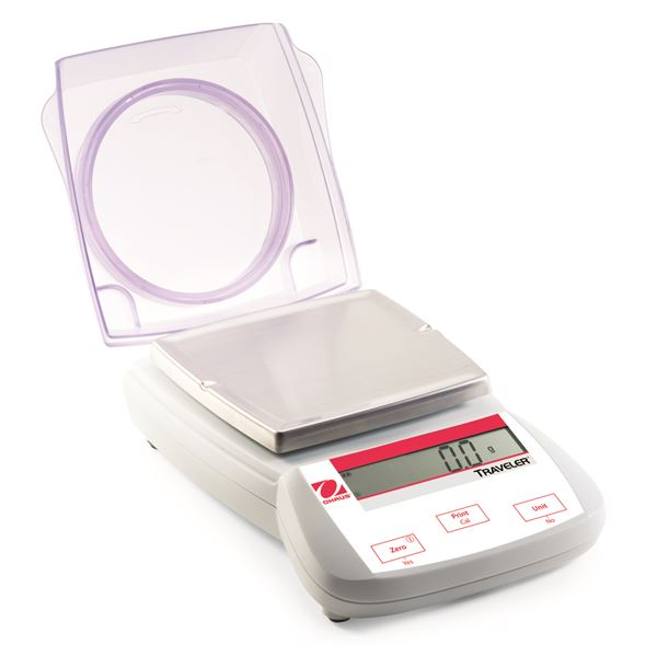 3000 g Traveller Portable Balance with Integrated Draftshield - TA3001