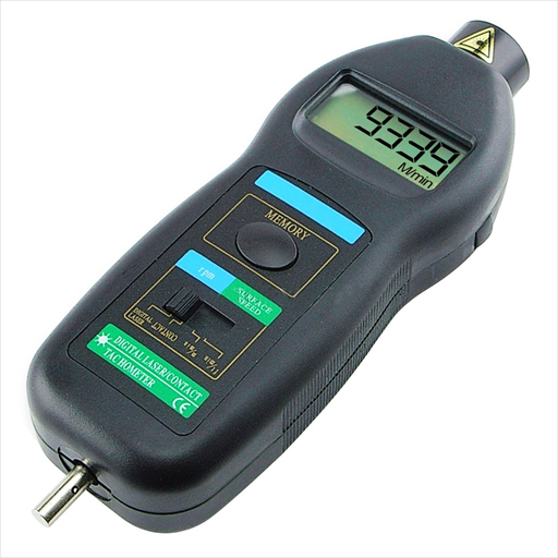 2 in 1 Digital Contact And Non-Contact Tachometer - TAC-02