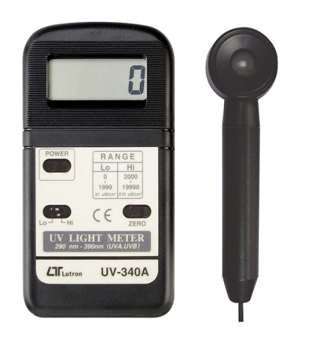 Pocket UV Light Meter - UV340A