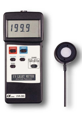 UV Light Meter With RS232 Interface - UVA365