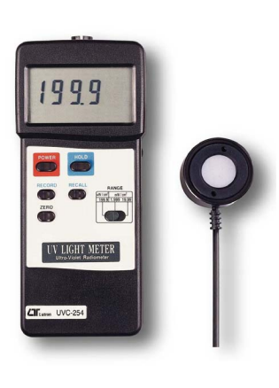 Light Meter With RS232 Interface - UVC254