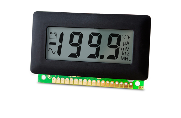 Low Cost 200mV LCD Voltmeter (Pack of Ten) - V 600