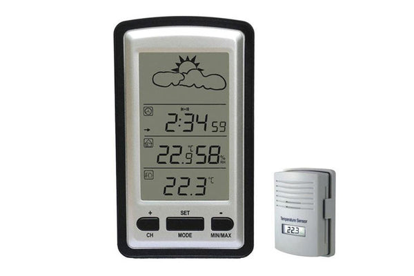 Wireless In/Outdoor Temp with Humidity - WS1281