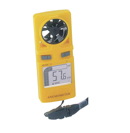 Hand Held Anemometer with Beaufort Scale - WS9500