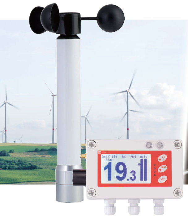 Scarlet WindPro Wireless Anemometer - WindPro