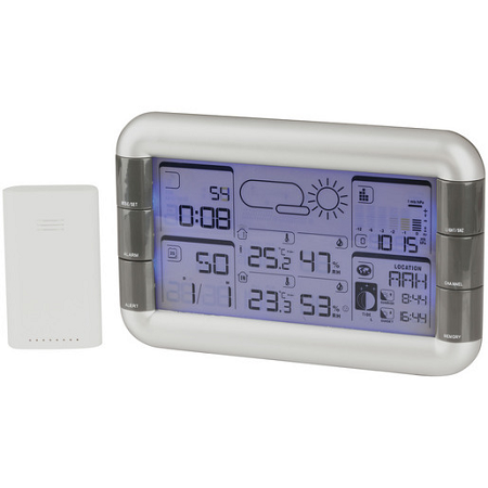 Wireless Weather Station with Outdoor Sensor - XC0366