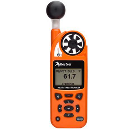 Kestrel 5400 Heat Stress Tracker with Vane Mount - Orange