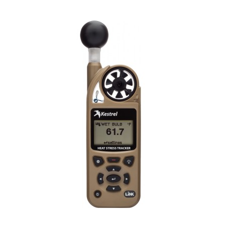 Kestrel 5400 Heat Stress Tracker with Vane Mount - Tan