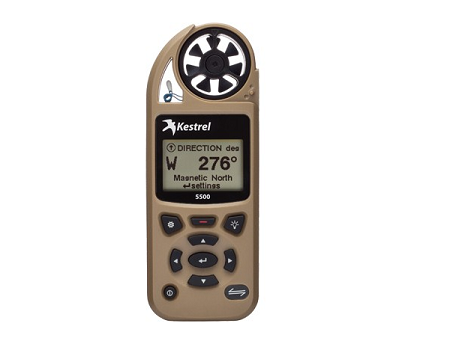 Kestrel 5500 Pocket Weather Tracker - Tan
